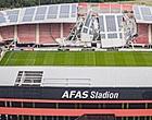Foto: AFAS Stadion wordt klaargestoomd voor AZ - Ajax: dak is eraf