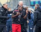 Foto: Excelsior volgt voorbeeld PSV niet: demonstrerende speler traint 'gewoon' mee