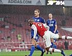 Foto: Arsenal niet langs Leicester na rood voor invaller