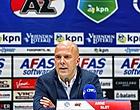 Foto: Slot wanhoopt niet na thuisnederlaag tegen Willem II