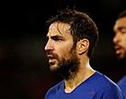 "Foto: Fábregas vertelt anekdote: ""Direct nadat ik erin kwam, gaf ik een assist"""