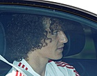 "Foto: David Luiz onhaalbaar: ""David, ben je gek of zo?"""