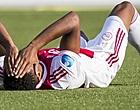 Foto: 'David Neres krijgt eerste voorzichtige blessurediagnose'
