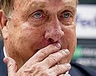 Foto: 'Angstige Advocaat slaat met vuist op tafel bij Feyenoord'