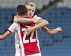 Foto: Van de Beek verrast Ajax-fans met transferstatement