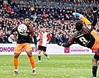 Foto: Kijkers Feyenoord-PSV gaan los op duo: 'Rot op!'