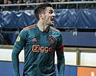 Foto: Spelers 'naaien' Ajax én fans met vervelende corona-actie