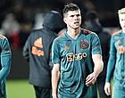 """Foto: """"Voorhoede met drie dertigers ook niet de beste reclame voor Ajax"""""""
