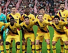 Foto: 'Staf en medespelers Barcelona helemaal klaar met één man'