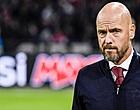 """Foto: Ten Hag spreekt zich uit bij Ajax: """"We moeten dat vergeten"""""""