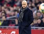 Foto: Ten Hag reageert op dure Ajax-blamage en blunderende Lamprou