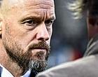 Foto: 'Ten Hag ziet het totaal niet zitten in Ajax-duo'