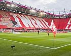 Foto: Ajax aan kop, Twente-aanhang waanzinnig loyaal