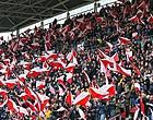 Foto: Fans FC Utrecht verpulveren record van jaar geleden