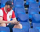 """Foto: Feyenoord-aanhang eist reactie club: """"Een schande"""""""