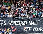 Foto: Feyenoord-fans woedend: 'Schandelijk, een misdaad op zich'