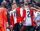 Foto: Falende Feyenoorder erkent: 'We verdienen niet veel beter dan de tiende plaats'