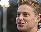 Foto: Frenkie de Jong: 'Was leuk bij Ajax, maar ik zou nu niet willen ruilen'
