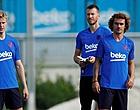 Foto: 'Barcelona-fans hebben bizarre mening over De Jong en Griezmann'