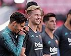 Foto: Frenkie de Jong gaat helemaal los na 'schande voor Barça'