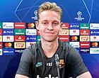 Foto: Barça stelt teleur: Setién laat Frenkie de Jong thuis