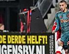 Foto: Zelfs de Ajax-fans halen keihard uit naar Hakim Ziyech: 'Haal hem er uit!'