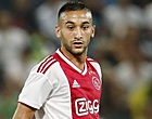 Foto: 'Ziyech is helemaal klaar met één Ajax-teamgenoot'
