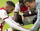 Foto: Ajax bevestigt: Hakim Ziyech heeft scheurtje in kuitspier