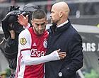 Foto: 'Ten Hag voert aantal veranderingen door in Ajax-opstelling'
