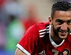 Foto: Marokkaanse voetbalfans 'vrezen' massaal voor Ziyech