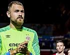 Foto: PSV'er Zoet blijft André Onana nipt voor en pakt fraaie prijs