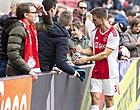 Foto: Veltman heeft medelijden met ploeggenoot: 'Hij is zó goed'