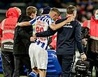 Foto: Heerenveen houdt perfecte score vast, zorgen om Veerman