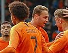 Foto: Groningen-spits vecht met Mitroglou om plekje bij selectie Griekenland