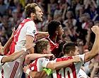 Foto: 'Ajax tegen PSV met wel hele opvallende spits'