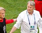 Foto: Fans maken gehakt van bondscoach Denemarken om Kasper Dolberg
