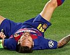 Foto: 'FC Barcelona schept duidelijkheid over meespelen Messi'