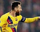 """Foto: Verbazing over wereldvoetballer Messi: """"Door niemand voorspeld"""""""