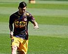 Foto: 'Barça opgelucht: sein al op groen voor Messi'