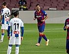 Foto: Luis Suárez beslissend in derby van Barcelona