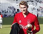 Foto: De Ligt: 'Er heerst een grafstemming in de kleedkamer van Ajax'