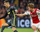 Foto: 'Juventus speelde smerige spelletjes om De Ligt en probeerde Ajax te bedonderen'