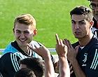 Foto: Gepasseerde De Ligt ziet Ronaldo schitteren in bekerwedstrijd tegen Roma
