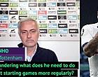 Foto: 🎥 Mourinho ergert zich rot aan vraag over Steven Bergwijn