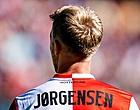 Foto: Jörgensen noemt voorwaarde voor vertrek bij Feyenoord
