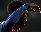 Foto: 'Barcelona vraagt 'fooi' voor Ousmane Dembélé'