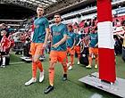 Foto: 'Meningsverschil tussen Ajax-bankzitter en technische staf'