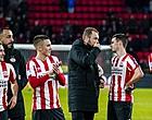 Foto: PSV-basisspeler raakt geblesseerd richting duels met Rosenborg en Feyenoord