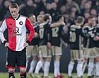 Foto: 🎥 Feyenoord-fan met wel heel merkwaardig Ajax-shirt gaat viral