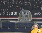 Foto: Feyenoord houdt eerbetoon aan Carlo de Leeuw